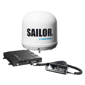 SAILOR Fleet One: Satellite Broadband